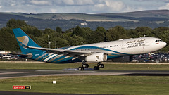 A4O-DA A330 Oman Air (COCOAJAMESON) Tags: jetliner airbus330 photography photograph photo jet runway23r runway transport a4oda airport aviation avgeek aviationgeek aeroplane av8 airliner arrivals airbus a330 canon canon7dmkii canon7d canon100400mm manchesterairport manchester manairport man egcc engines oman smoky smokytouchdown touchdown 23r landing arriving