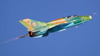 Mikoyan Gurevich MiG-21 UM Lancer B | Romanian Air Force