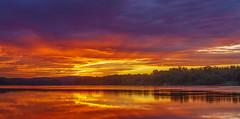 DSC04398 (johnjmurphyiii) Tags: 06416 clouds connecticut connecticutriver cromwell dawn originalarw riverroad riverportpark sky sonyrx100m5 summer sunrise usa johnjmurphyiii