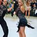 Black lace twirl