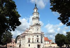 Kaunas Church (Alan1954) Tags: kaunas lithuania christian catholic church white holiday 2017