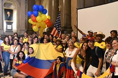 2017 Colombia Flag Raising-037 (Philly_CityRep) Tags: cityofphiladelphia colombia flag raising