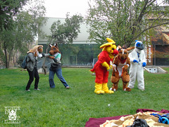 DSC00180 (Thanriu) Tags: fursuit chile meet junta furry santiago friends amigos canid monster avian ave canino monstruo badge angel dragon parrot artic wolf yerik dog