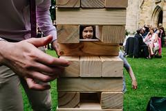 Kent, England 2017 (Kristian Leven) Tags: street photography jenga wedding garden games