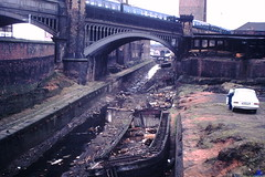 Rochdale Canal (ee20213) Tags: disusedcanal castlefield abandonedcanal knottmill rochdalecanal barge manchester