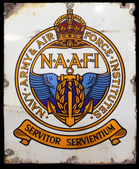NAAFI sign ref 1849 (Tony Withers photography) Tags: manston raf history museum aviation flying ww2