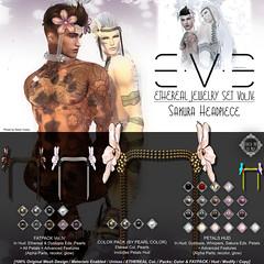 E.V.E Ethereal Vol.04 HeadPiece [Info] (eve.studio (Noke Yuitza)) Tags: eve shinyshabby ethereal sakura pearls accessory headpiece artnouveau artdeco artanddesign secondlife