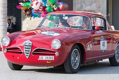 Mille Miglia, Gubbio 2017 (MikePScott) Tags: 1900csupersprint alfaromeo camera car events gubbio italia italy millemiglia nikon28300mmf3556 nikond600 transport umbria