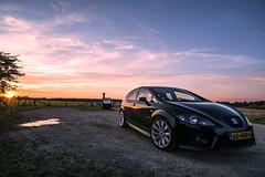 Seat Leon Cupra (RigieNL) Tags: seat cupra leon car auto tuning sun sundown sonya6000 sunset sunray instagram