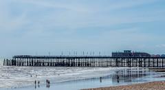 Hastings Pier (TD2112) Tags: tonyduke hastingspier hastings sea pier sky water beach structure steel