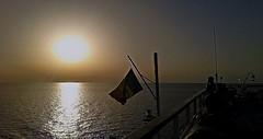 Tramonto sul mare (Gi@nni B.) Tags: tramonto sunset mare marmediterraneo sea mediterraneansea