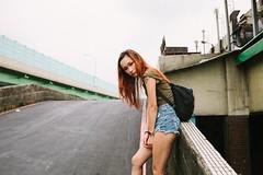 (Kevin .H) Tags: 台灣 台北 攝影 外拍 人像 女孩 taiwan taipei girl photography canon 5d2 5dii 35mm film 光影 street 市場 market