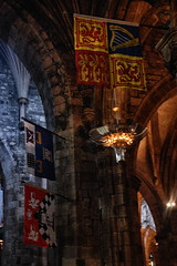 Flags Hang Here (Clive Varley) Tags: cathedrals edinburgh nikcolorefexpro