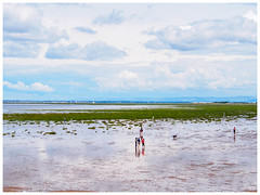 Playing on the beach (jason_hindle) Tags: southportpier unitedkingdom southport beach