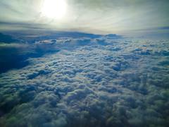Flying (Reg Natarajan) Tags: flying clouds sky
