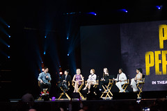 Cast Of Pitch Perfect 3 at YouTube Night of Awesome (j1madrPhotography) Tags: pitch perfect 3 appearance third sequel special cast main stars celebrities six anna kendrick brittany snow ester dean camp hana mae lee chrissie fit interview with flula youtube night of awesome vidcon us 2017