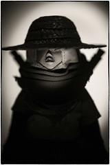 Underverse Ninja Tsuru. (Alice Adrenochrome) Tags: threea popbot 1216 blackwhite tomorrowking tomorrow queen