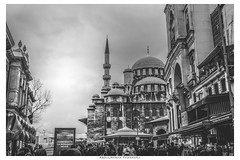 Old city istanbul (Abdulrhman Fawakrji) Tags: sky city street travel religion church tower istanbul old tourism urban architecture white monument art canon sight town cathedral ancient outdoors photographer mosque like no person photography blackandwhite