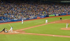 Toronto Blue Jays Vs Oakland Athletics .... Rogers Centre .... Toronto, Ontario (Greg's Southern Ontario (catching Up Slowly)) Tags: baseball majorleaguebaseball torontobluejays oaklandathletics rogerscentre baseballstadium