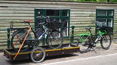 WorkCycles Fr8 V8 behemoth bike transport (@WorkCycles) Tags: aanhanger amsterdam behemoth bike dutch elektrisch fiets fr8 trailer transport transportfiets v8 workcycles