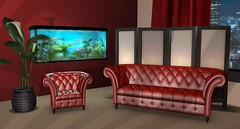 Empire Sofa Set (Akaesha Revnik) Tags: second life secondlife akaesha react animated furniture animations couple bed bath sofa set