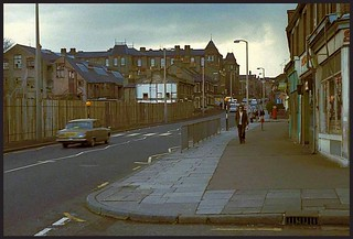Junction of Marsh Hill and Trehurst St, 1968