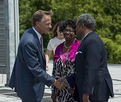 7.19.2017 Governor Bill Haslam joins local officals in celebrating I-40-240 Interchange project completion (Governor Bill Haslam) Tags: governorbillhaslam transportation july 2017 memphis tennessee usa