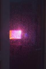 PURPLE RAIN (JAI Photography.co) Tags: purple rain drops light lighting night photography photographer sigma nikon lens d3200 dslr glass amature camera