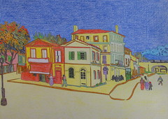 La maison jaune à Arles - Van Gogh - 1888_0 (Luc II) Tags: vangogh maison jaunes arles