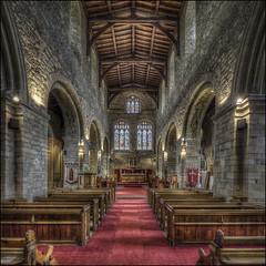 Elstow Abbey (Darwinsgift) Tags: elstow abbey church bedfordshire john bunyan pilgrims progress nikkor pc e 19mm f4 hdr photomatix nikon d810 interior
