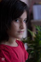 Rameesha Arif (yousufkhan4) Tags: canon60d people child girl portrait 50mm peshawar rameesha red sharp blurr cute mywork flickr natgeo color highkey shadows contrast hairs eyes daylight dramatic