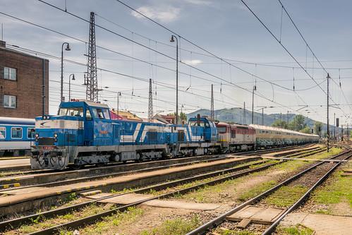 736 013-4 + 736 015-9 + 751 047-2 ZSSK Cargo Žilina SK 22.06.17