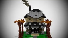 Monster House (Benjamin Sund) Tags: lego movie house moc