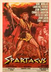 Spartacus (1960, USA) - 08 (kocojim) Tags: stanleykubrick tonycurtis johngavin kirkdouglas charleslaughton motionpicture film laurenceolivier publishing poster peterustinov jeansimmons kocojim illustration advertising movie movieposter