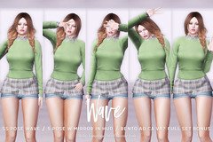 SS POSE Wave (Body Language Sweet Lovely Cute) Tags: sl secondlife bodylanguage