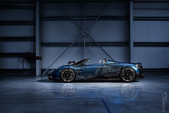 Pagani Huayra Roadster X-Ray (Nike_747) Tags: naksphotographydsign pagani huayra roadster xray darkside supercar hypercar super hyper car sportscar sport class exotic rare luxury color auto limited edition cabriolet roadlegal box garage hangar reflection lines stripes carbon fiber monoqoque blue gold black white mercedesamg v12 twinturbo coupe
