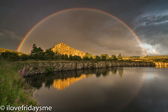 Golden Nugget (ilovefridaysme) Tags: cawfields quarry hadrianswall northumberland sony a7r11 leefilters rainbow storm