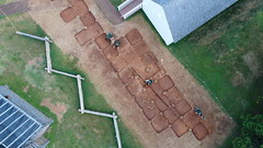 DJI_0014 (Montpelier Archaeology) Tags: indianadrone archaeology aerial fencelin fenceline southyard