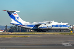 RA-76511 IL76 Volga Dnepr 34L YSSY-2369 (A u s s i e P o m m) Tags: il76 volgadnepr syd yssy sydneyairport mascot newsouthwales australia au