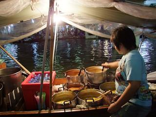 marché flottant amphawa - thailande 71