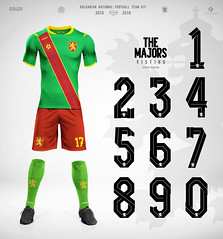 The Majors National football team 2016-2018 kit (Stefan Chin2off) Tags: fonts glyphs graphics bulgarian football team display font latin cyrillic free fontteam kit national bulgaria names tags numbers clothing apparel iconic feature design heritage glorious typography graphic custom symbol april nike soccer word press