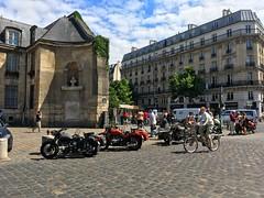 Retro Tours URAL bikes Paris France (mangopulp2008) Tags: retro tours ural bikes paris france saint germain des pres