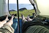Chilling (BurnThePlans) Tags: scoland highlands redpoint hiking backpacking outdoors camp camping explore bothy walk coast