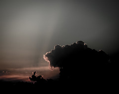 Light Seeping Through the Heavens (D Rom) Tags: canon rebel t6i eos 750d ef 50mm 14 usm prime lens cloud clouds sky shadow shadows sunset light artistic heaven seeping seep heavens sun sunray ray rays