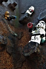 Where did you come from !? (NoeTum) Tags: lego pentax starwars rusty clones guns stormtrooper trooper