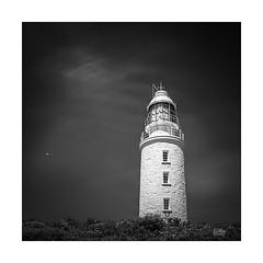 Bruny (Mike Hankey.) Tags: lighthouse brunyisland south tasmania landscape cloudybay published