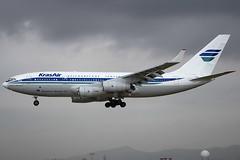 KrasAir IL-96-300 RA-96014 BCN 02/09/2006 (jordi757) Tags: airplanes avions nikon d100 bcn lebl barcelona elprat ilyushin il96 il96300 krasair ra96014