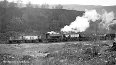 c.1966 - Mountain Ash Colliery, South Wales. (53A Models) Tags: nationalcoalboard ncb hudswellclarke 060st 18851954 steam freight mountainash colliery southwales train railway locomotive railroad