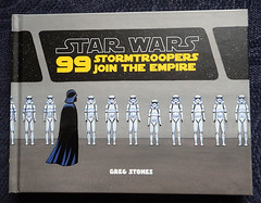 Star Wars: 99 Stormtroopers Join the Empire (Gwydion M. Williams) Tags: books bookcovers british starwars stormtroopers cartoon cartoons humor humour funny