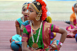 Kuchipudi Guinness Dance -Hyderabad 2014 (9)